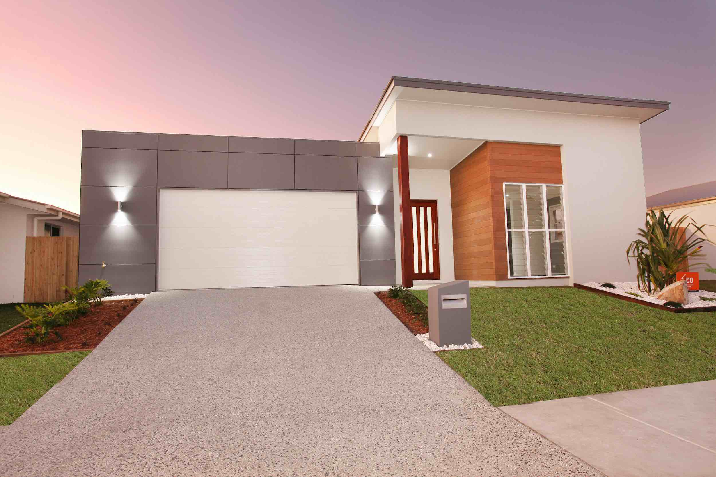 Small lot house design by Principal Plans